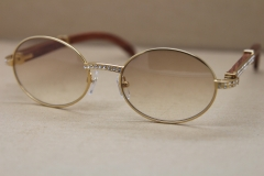 NEW Diamond Sunglasses 7550178 Wood Original  luxury brand Unisex Sunglasses